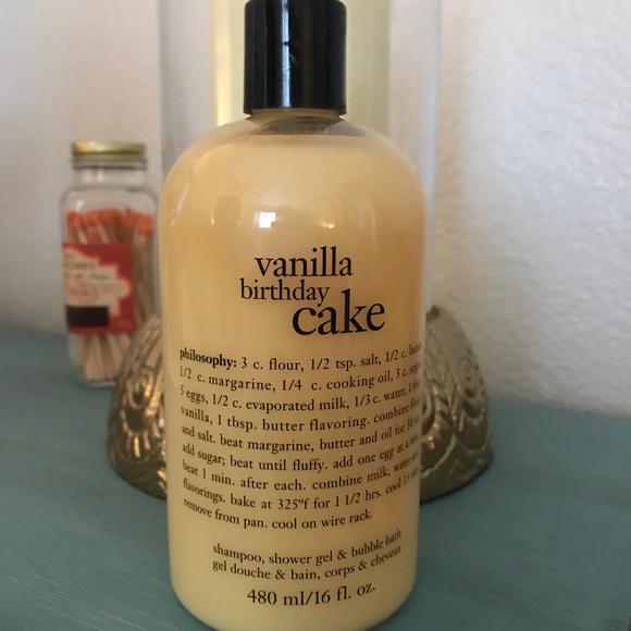 Philosophy Vanilla Birthday Cake Shower Gel M 5c22d3e9035cf1e7a4ee3a05